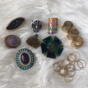 Give away -🎀Bundle rings